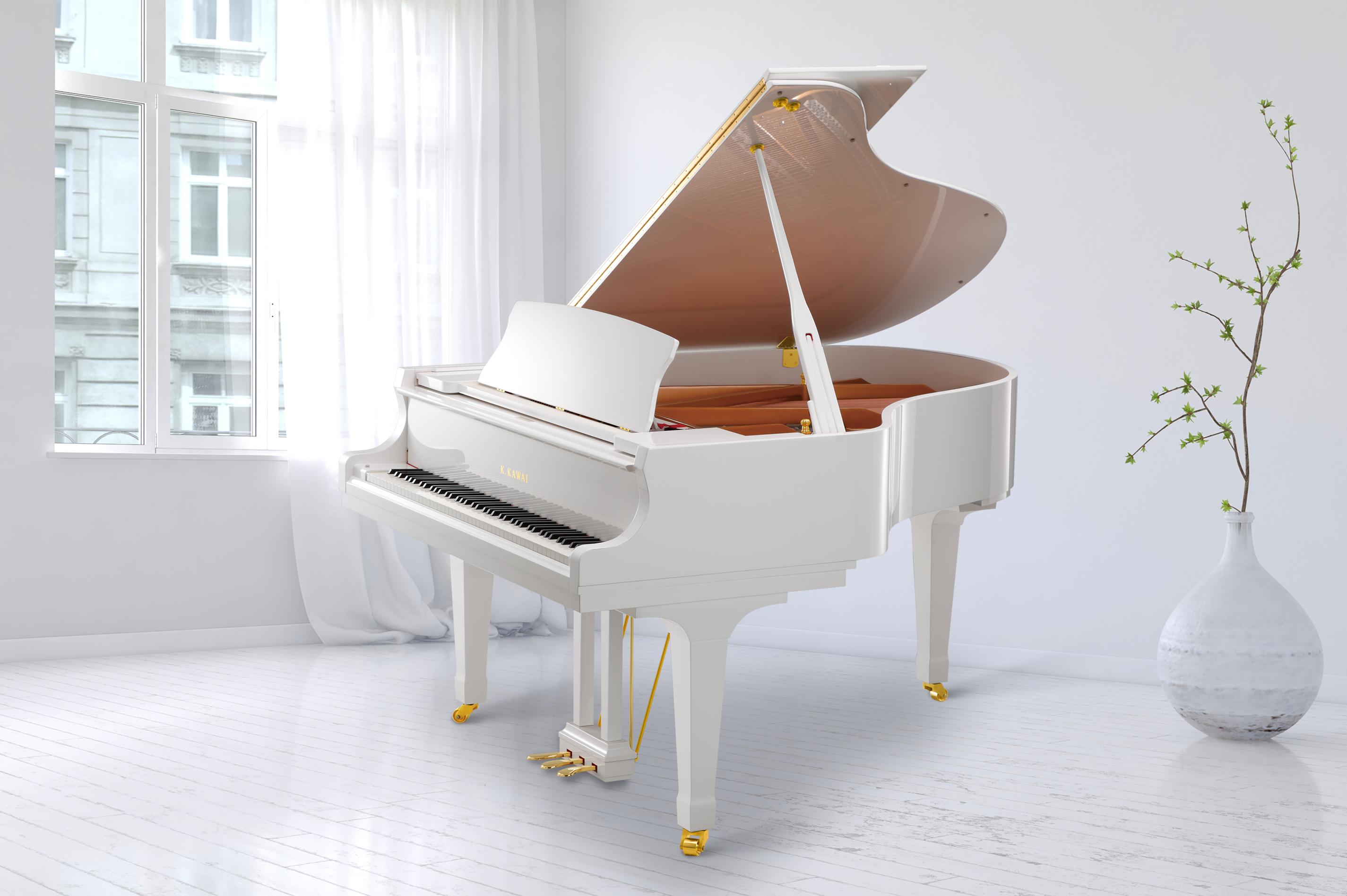 Kawai gx-2 Grand Piano White