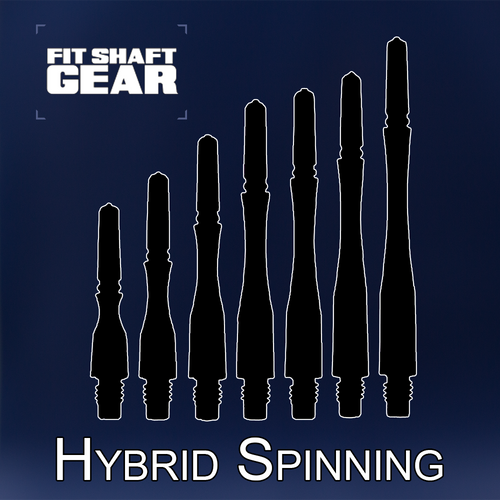 Fit Flight Shafts GEAR - Hybrid Spinning