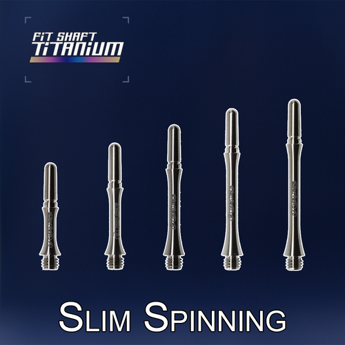 Fit Flight Shafts TITANIUM - Slim Spinning