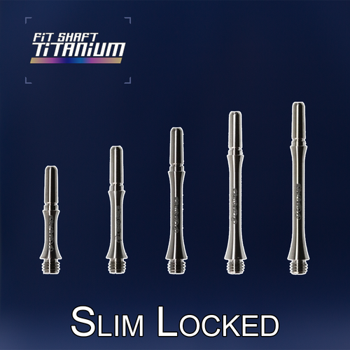 Fit Flight Shafts TITANIUM - Slim Locked