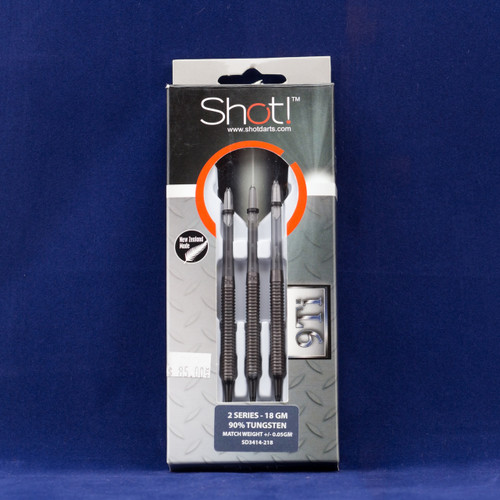 Shot! 9Ti - 2 Series Soft Tip Darts, 90%Tungsten, 18 gram