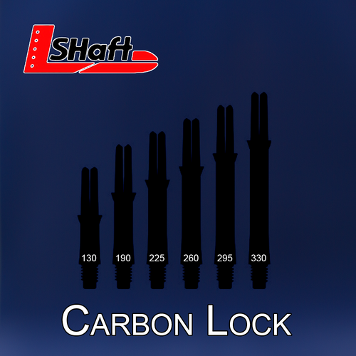 L-Shaft Carbon by L-Style with Champagne Rings - Lock