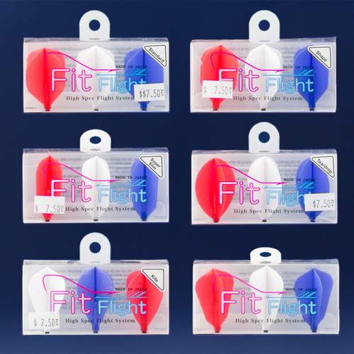 Fit Flight Original - *Exclusive* Red, White & Blue - 3 Pack