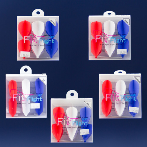 Fit Flight Original - *Exclusive* Red, White & Blue - 6 Pack