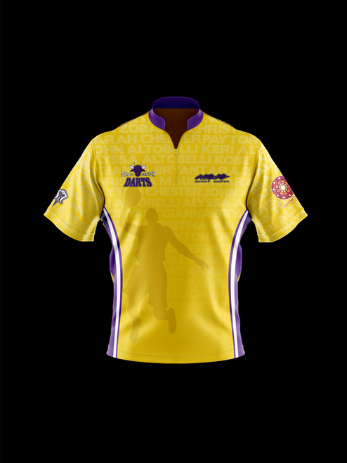 DCD - Kobe Tribute Jersey by Mojo Dart Gear - Yellow