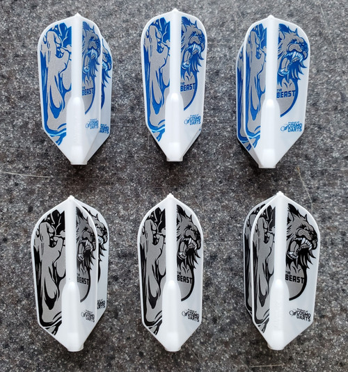 COSMO FIT FLIGHT JEREMIAH MILLAR V2 SIGNATURE DART FLIGHTS - SLIM - 3 OPTIONS