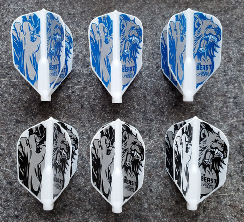 COSMO FIT FLIGHT JEREMIAH MILLAR V2 SIGNATURE DART FLIGHTS - SHAPE - 3 OPTIONS