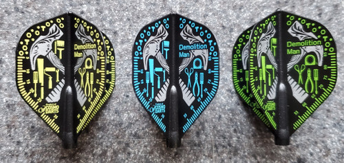 COSMO FIT FLIGHT DARREN WEBSTER V3 SIGNATURE DART FLIGHTS - STANDARD