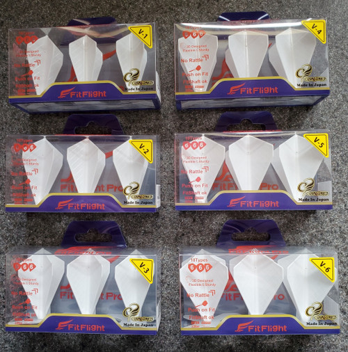 NEW - Cosmo Fight Flight Pro Flights - Type V - White or Black
