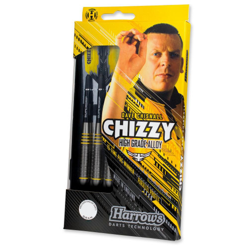 "Harrows ""CHIZZY"" Dave Chisnall, Soft Tip Darts, High grade Alloy, 18 gram"