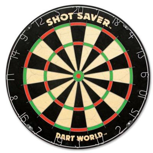 "Steel Tip Dart Board ""Shot Saver"" Bristle Board"