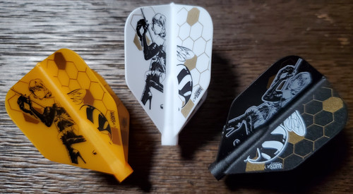 COSMO FIT FLIGHT ABE TATSUYUKI DART FLIGHTS - SHAPE