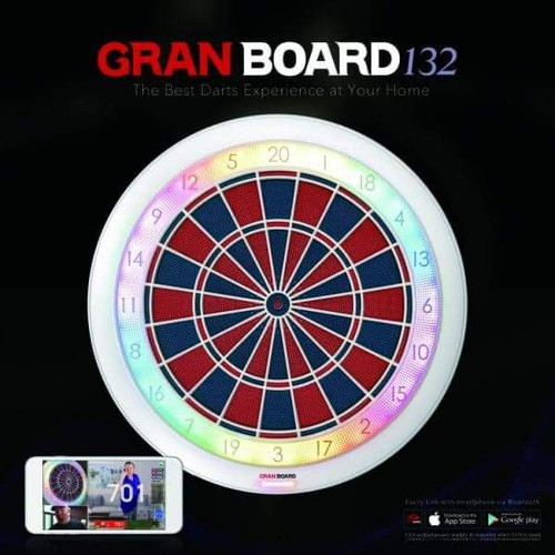 Gran Board 132 Trainer Bluetooth Electronic Dartboard - Free Shipping