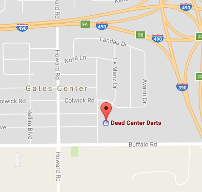 Google Maps Image of Dead Center Darts