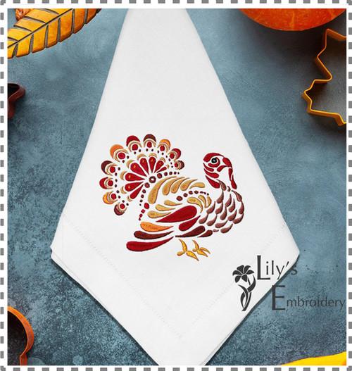 Machine Embroidery Design - Turkey