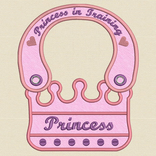 Princess Machine embroidery design