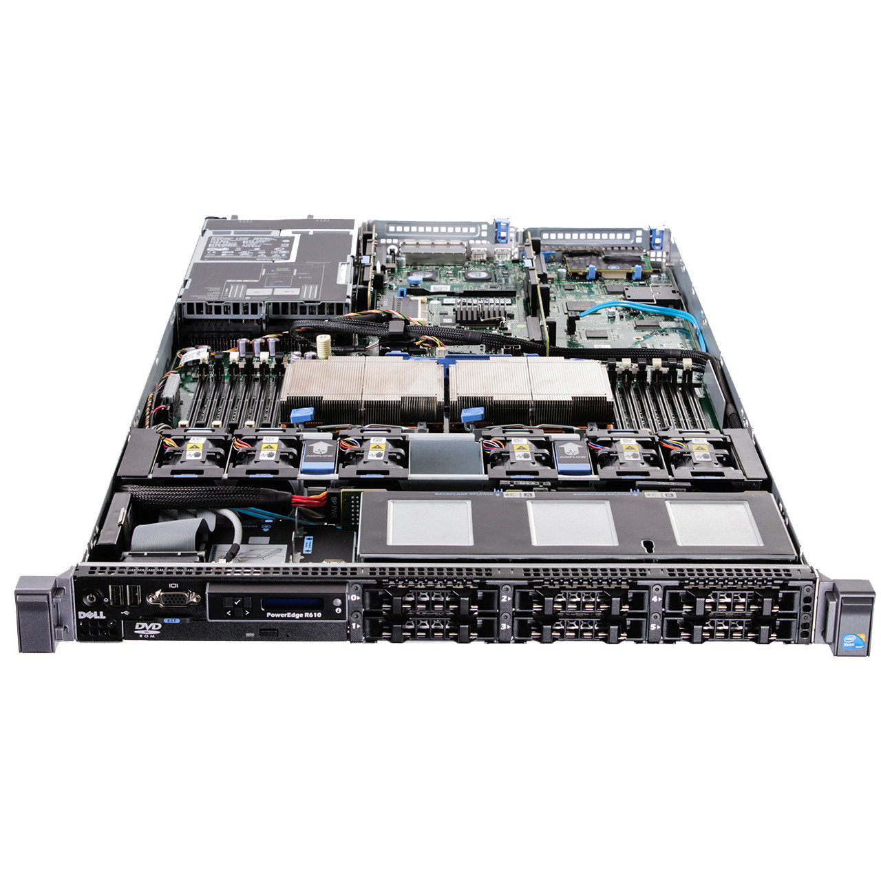 Dell PowerEdge R610 Server 6 x 2 5