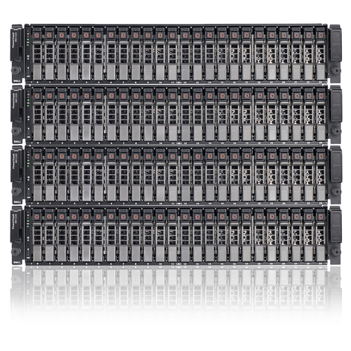 Dell PowerVault MD1220 Storage Array | SAS 2PS Dual JT356 | 24 x 146GB 10K SAS Dual Power
