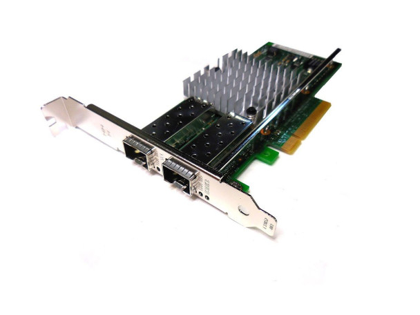 Dell Intel X520-DA2 Dual Port PCIe 10Gb SFP+ Low Profile Network Adapter 942V6