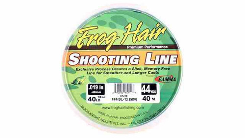 Frog Hair Shooting Line
