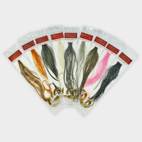 Whiting 100 Saddle Hackle Pack