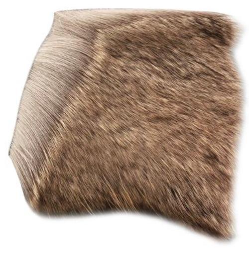 Deer Hair - Short/Fine Natural Brown