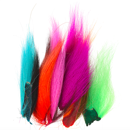 Bucktail Assorted Fl. Colors