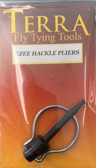 Deluxe Ezee Hackle Pliers