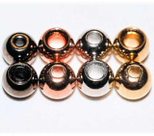 Plated Cyclops Beads 100ct.