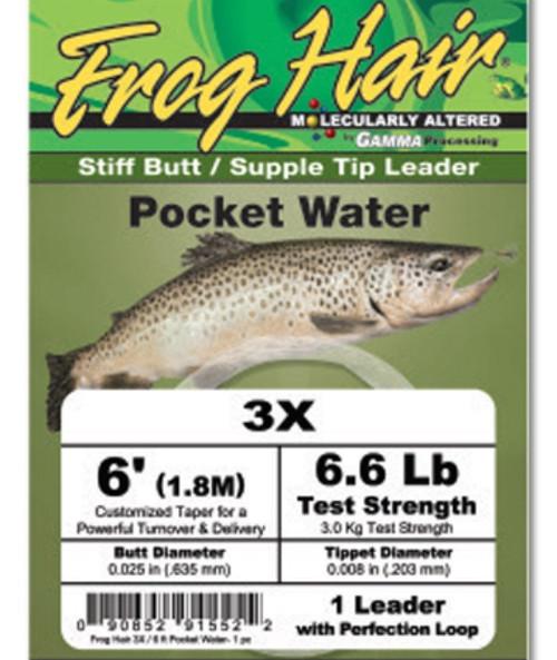 Pocket Water 6' Leader