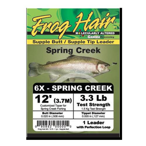 Spring Creek 12' Leader
