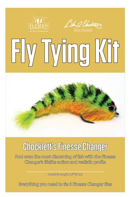 Flymen Fishing Fly Tying Kits