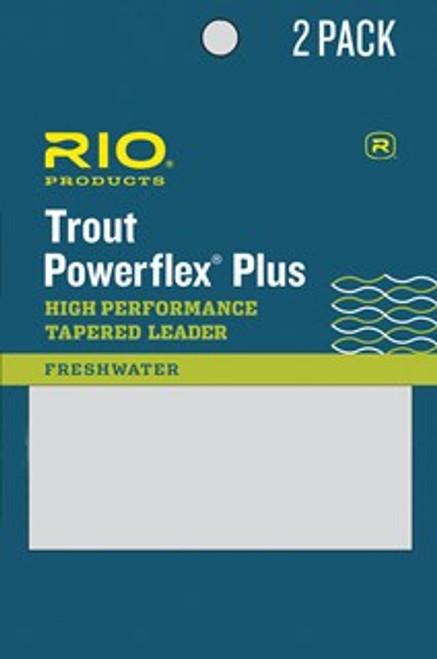 Rio Powerflex Plus Leader 2pk