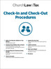 Check-In and Check-Out Procedures Table of Contents
