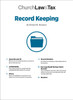 Record Keeping Table of Contents