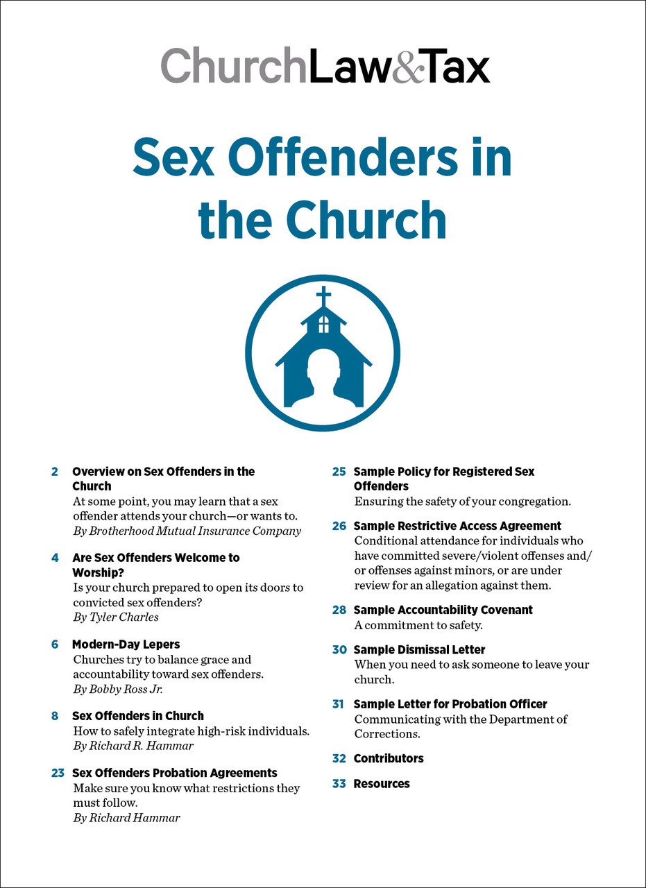 Restrictions on sex offenders near churches