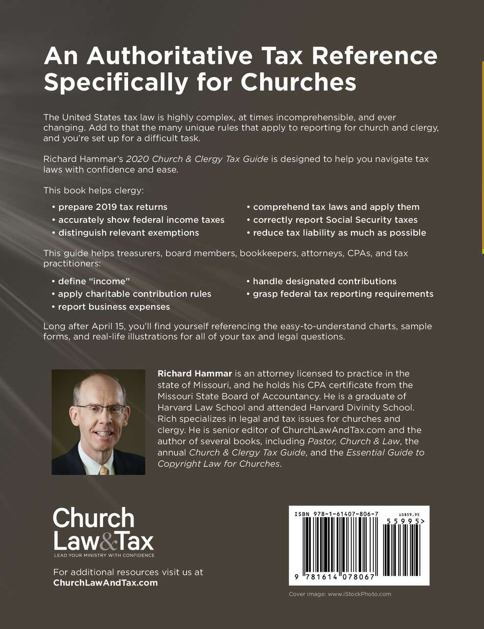2020 New Tax Laws.2020 Church Clergy Tax Guide Book