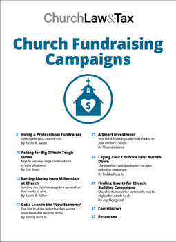 Church Fundraising Campaigns