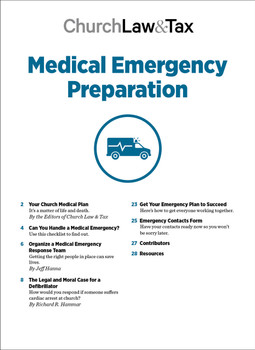Medical Emergency Preparation Table of Contents