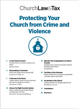 Protecting Your Church from Crime & Violence Table of Contents
