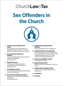Sex Offenders in the Church Table of Contents