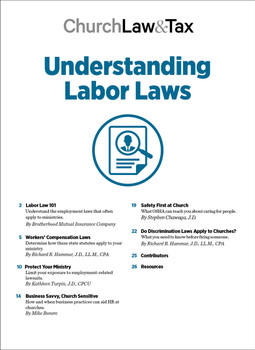 Understanding Labor Laws Table of Contents