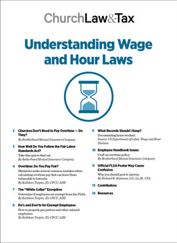 Understanding Wage and Hour Laws Table of Contents