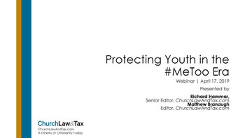 Protecting Youth in the #MeToo Era