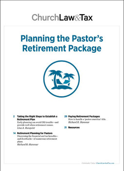 Planning the Pastor's Retirement Package