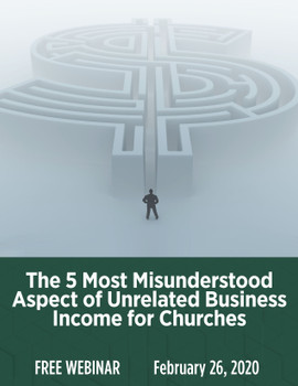 The 5 Most Misunderstood Aspects of Unrelated Business Income for Churches