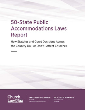 50-State Public Accommodations Laws Report - Cover