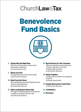 Benevolence Fund Basics Table of Contents