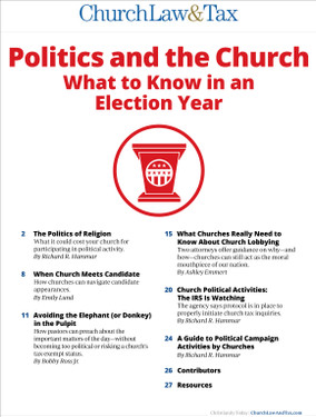 Politics and the Church table of contents