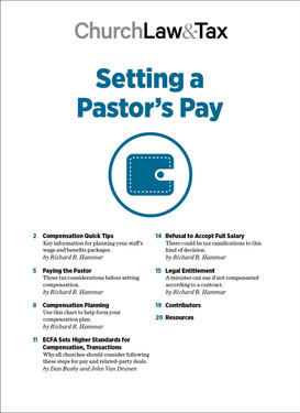 Setting a Pastor's Pay Table of Contents